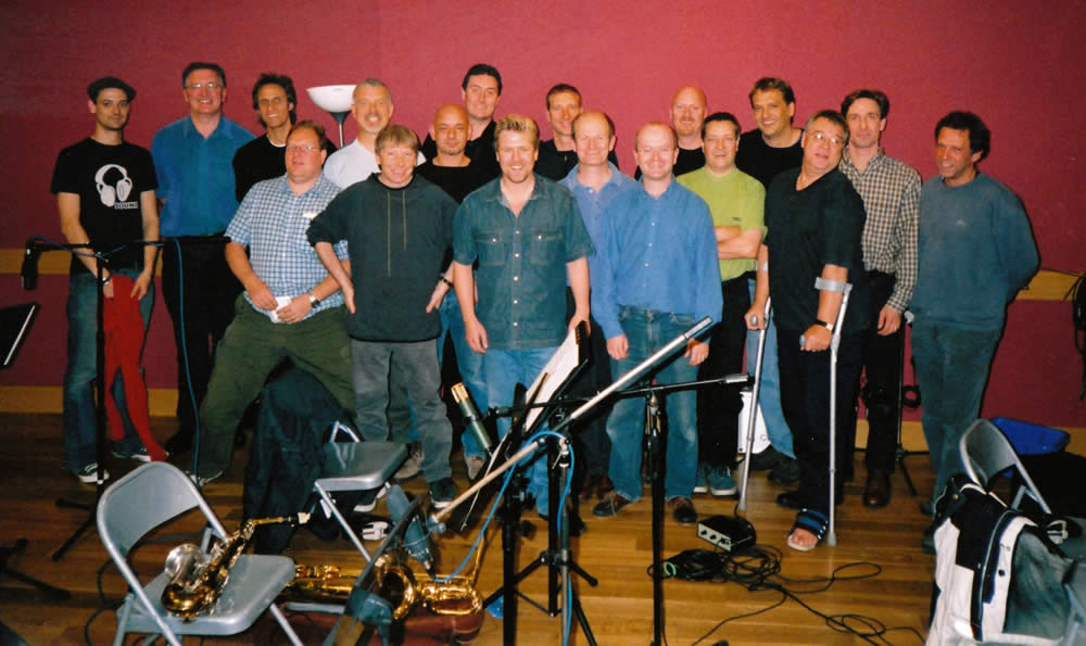 The 'Swiss Toni' Big Band (The Fast Show) – London, UK 2002