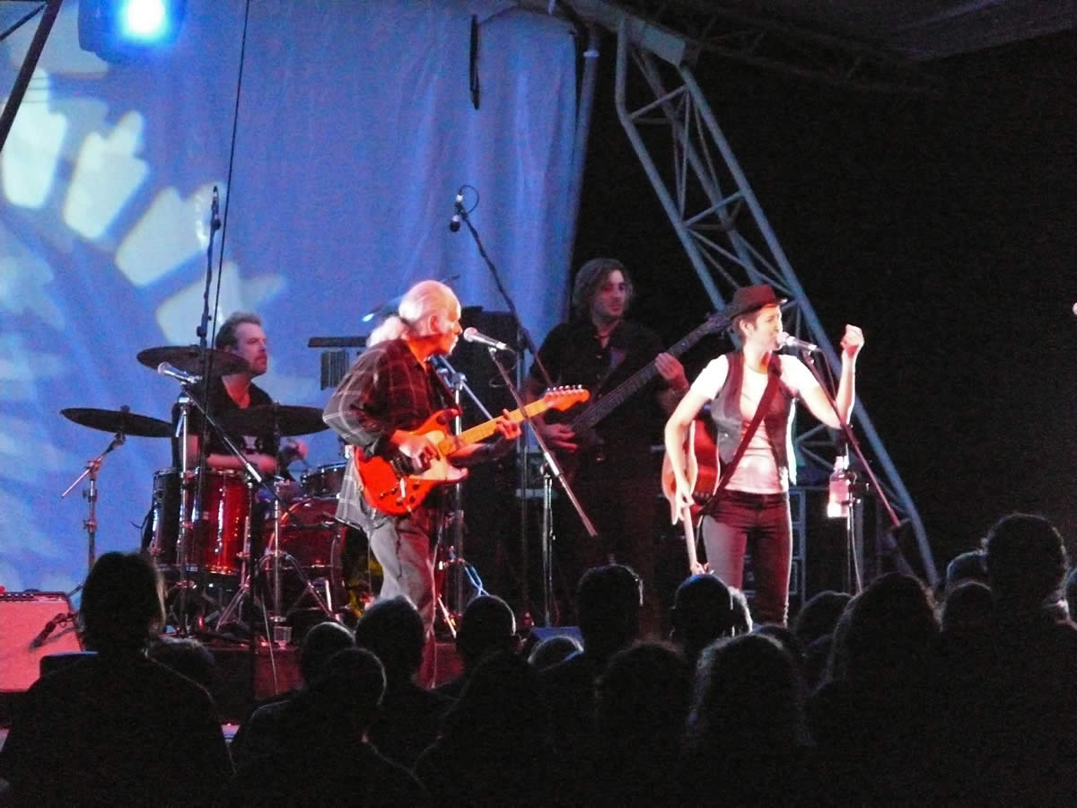 Michelle Shocked - Nannup Festival  - WA 2009